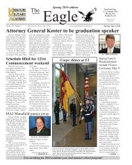 Attorney General Koster to be graduation speaker - Missouri Military ...