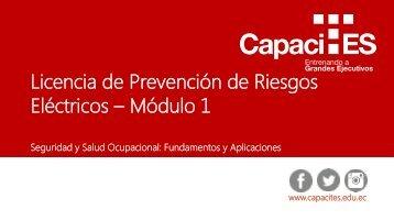 Licencias de prevención de riesgos - módulo 1 final