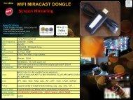 PK-566M  WIFI MIRACAST DONGLE