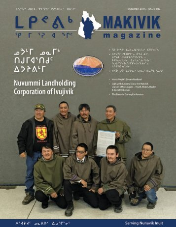Makivik Magazine Issue 107