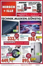 Angebote Hifi | TV | Haushalt | Handy - Hirsch + Ille Ludwigshafen