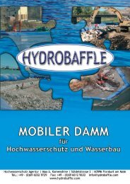 Mobiler - HOCHWASSERSCHUTZ AGENTUR
