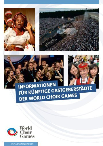 Gastgeber der World Choir Games