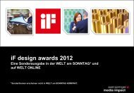 Sonderausgabe - iF - International Forum Design Hannover