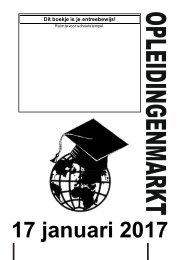 Boekje 16-17 opleidingenmarkt 12-01-2017