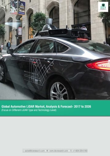 Global Automotive LiDAR Market Analysis 2017-2026