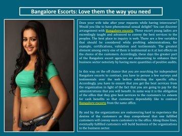TiyaGuptha Bangalore Escorts