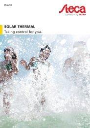 Steca Elektronik GmbH Catalog solar thermal (19 2017)