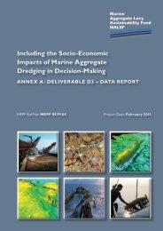 Including the Socio-Economic Impacts of Marine ... - Cefas - Defra