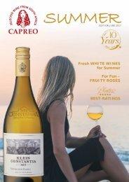 CAPREO Summer Catalogue 2017