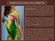 Bangalore Escorts Girls