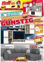 ROLLI SB Küchen- und Möbeldiscounter: Gigantisch günstig!