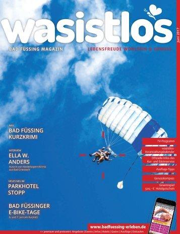 wasistlos bad fuessing magazin Juni 2017