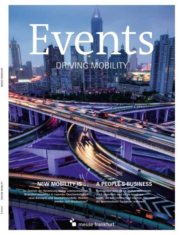 EVENTS driving mobility (DE)
