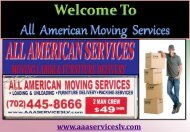 Offices Moving in Las Vegas