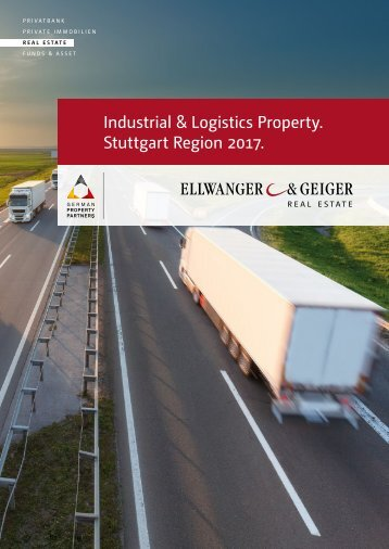 Logistics and Industrial Property 2017 - Stuttgart Region