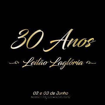 CATALOGO FINAL 3 Leilão 30 anos Lagloria - FINAL