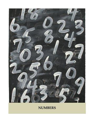 Numbers - June 2017