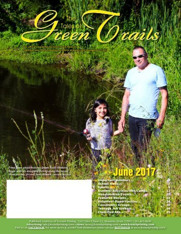 Green Trails 2 June 2017