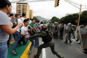 Venezuela en represion