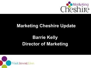 Marketing Cheshire Resources - Why Cheshire