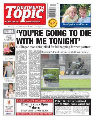 Westmeath Topic - 1 June 2017