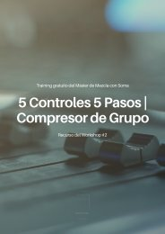 [MDMcS] - 5 Controles 5 Pasos - Compresor de Grupo