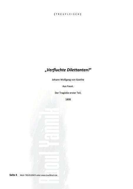TREUFLEISCH - Teil 5
