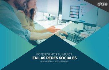 Brochure Gestión Redes Sociales 2017 Dale Diseño & Publicidad
