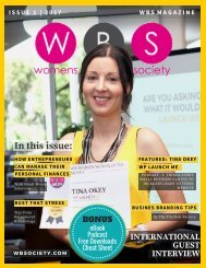 WBS Magazine - Issue 1