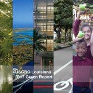 USGBC Louisiana 2017 Green Report Online