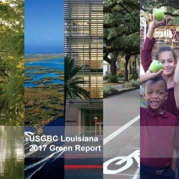 USGBC Louisiana 2017 Green Report Online