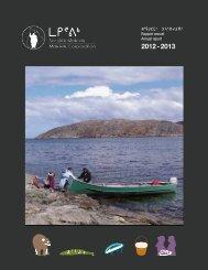 2012-2013 Makivik Annual Report