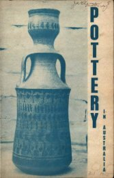 Pottery In Australia Vol 3 No 1 May 1964