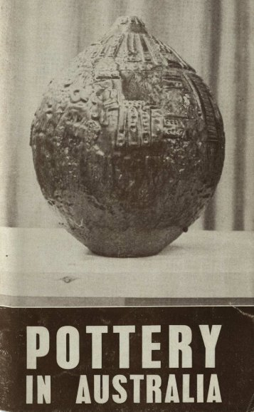 Pottery In Australia Vol 3 No 2 October 1964