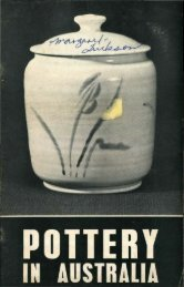 Pottery In Australia Vol 3 No 3 November 1964