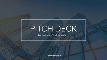 Clean Pitch Deck