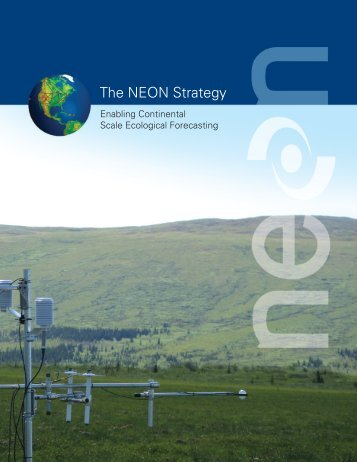 The NEON Strategy - NASA Carbon Cycle & Ecosystems