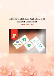 Cake PHP web development