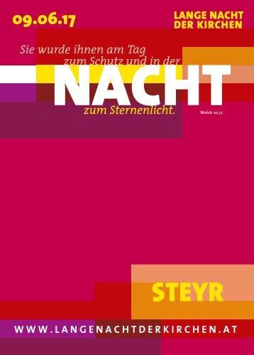 Lange-Nacht-der-Kirchen-Programmheft-09.06.2017-I-Oberösterreich-I-Steyr