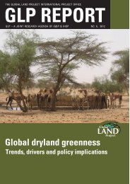 GLP REPORT Global dryland greenness - Global Land Project