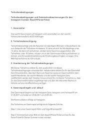 Teilnahmebedingungen #saarVVFerienTicket
