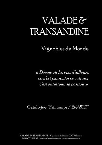 Catalogue Printemps-Eté 2017