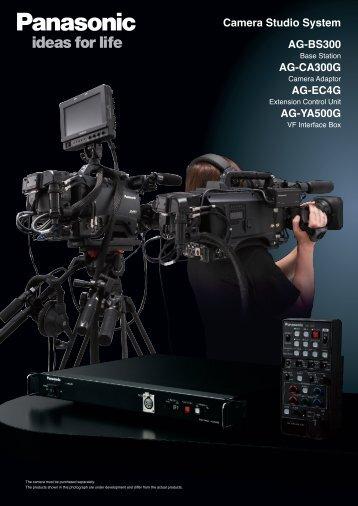 Camera Studio System AG-BS300 AG-CA300G AG ... - Panasonic