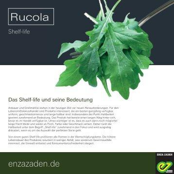 Leaflet Rucola Shelf-life 2017 DE