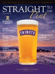 Straight To The Pint - Issue 6 - Spring 2017