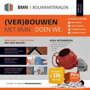 BMN krant - (ver)bouwen met bmn > doen we. Editie juni 2017
