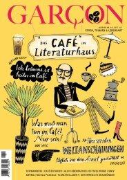 Magazin GARCON - Essen, Trinken, Lebensart Nr. 44