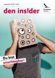 Den Insider N°67 - September 2016