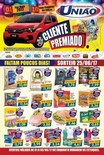 Ofertas Supermercados União Paraguaçu 1 a 3 de Junho de 2017